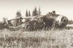 Самолет «Юнкерс-290» уничтоженный в ходе операции «Арийцы»