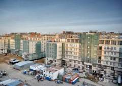В 2015 жителям Knightsbridge видимо предлагали поселиться на стройплощадке?  (Фото: facebook.com/РЕСТАВРАЦИЯ Н)