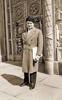 Посол Франции в СССРМорис Дежан