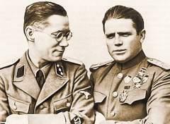 Диверсант Пётр Таврин (справа) должен был убить Сталина