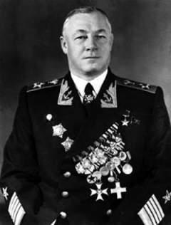 Адмирал Кузнецов - главный военно-морской советник в Испании