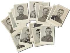 Фотографии агентов абвер- группы-102, доставленные в Смерш зафронтовым разведчиком Прядко