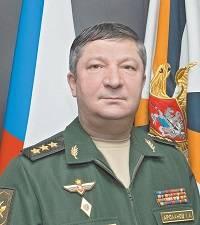 Генерал-полковник, заместитель начальника Генштаба Вооружённых сил РФ, Халил Арсланов