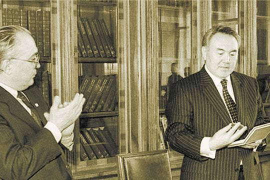 Основы Большой Евразии были заложены 25 лет назад Нурсултаном Назарбаевым