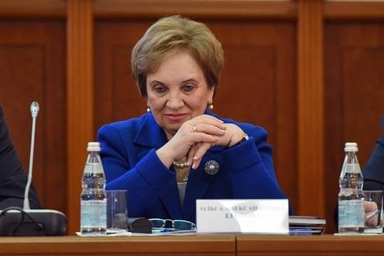0de5642fcfb56 Председатель Мосгорсуда Ольга Егорова (фото: Дмитрий Коротаев/Коммерсантъ)