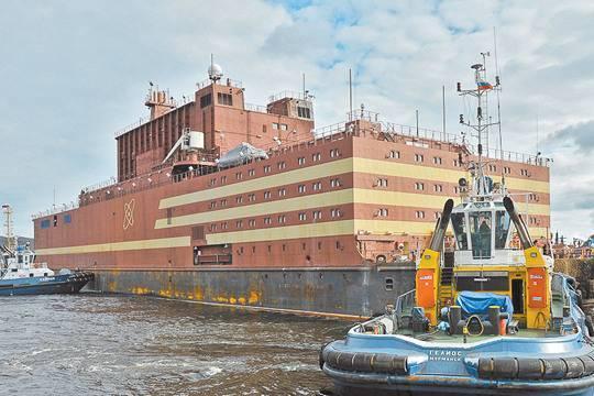 Проект по созданию плавучей атомной станции трещит по швам. фото: Лев Федосеев/ТАСС