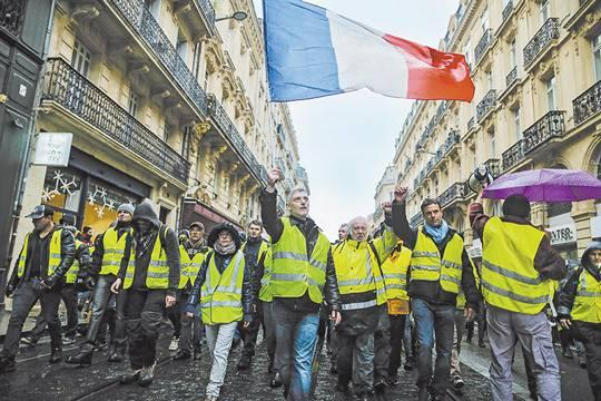 Протесты во Франции – начало смены мировой цивилизации?
