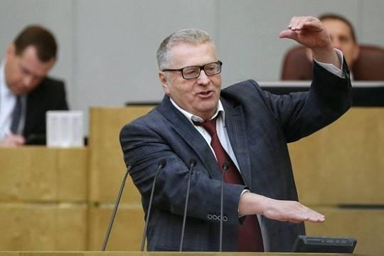 Надоевшую ростовую фигуру Жириновского похитили из Красноярского горсовета