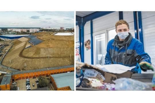 Мусорные полигоны – тяжёлое наследие бездумного сбрасывания отходов (на фото слева рекультивируемый полигон Кучино). Сегодня на местерекультивированных свалок вырастают современные комплексы по переработке отходов (справа – КПО «Серебряные Пруды»)
