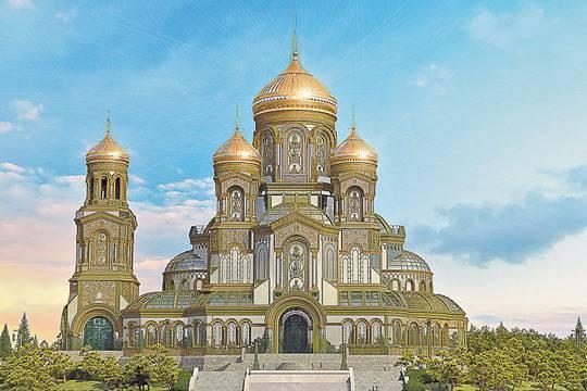 Военным приказали собирать деньги на армейский храм. Пресc-служба Минобороны РФ/ТАСС
