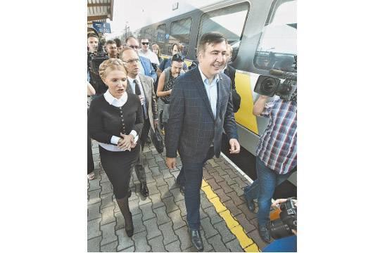 Саакашвили нашел вадминистрации Порошенко склад денежных средств для подкупа депутатов