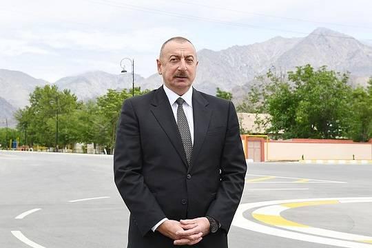 Алиев назвал главное условие его встречи с Пашиняном
