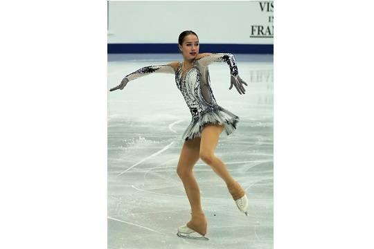 Алина Загитова улучшила мировой рекорд