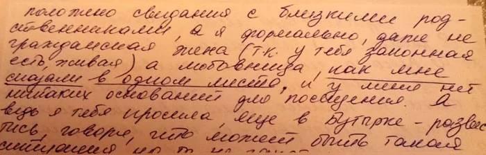 Письмо Елены Дмитриевой