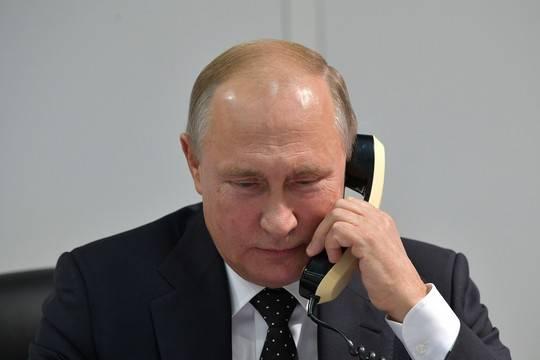 Байден и Путин поговорили по телефону