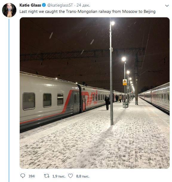Британские журналисты испытали восторг от путешествия по России на поезде
