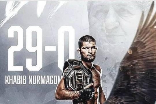 Чемпиона UFC в лёгком весе Хабиба Нурмагомедова признали спортсменом года