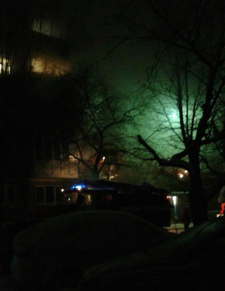 Пожар вдоме вОмске ликвидирован— МЧС
