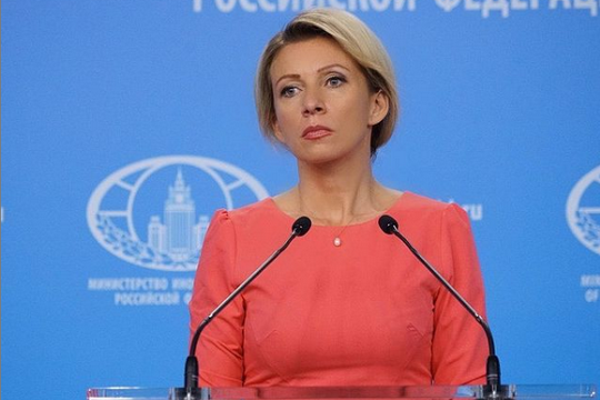 Да, это про вас - Захарова объяснила Псаки, кого Путин назвал Шерханом