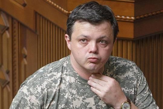 Депутат Верховной Рады Семен Семенченко и его хлопцы прихватили с собой в Грузию автоматы и взрывчатку