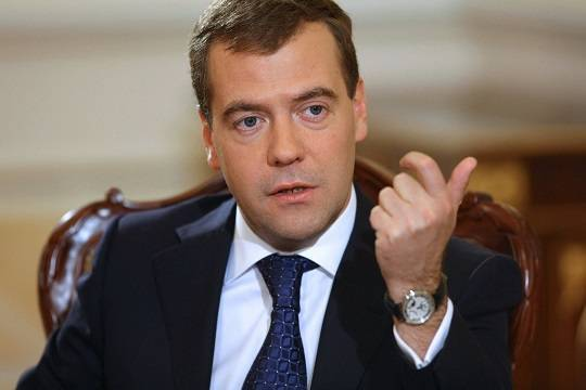 Дмитрий Медведев прокомментировал арест Михаила Абызова