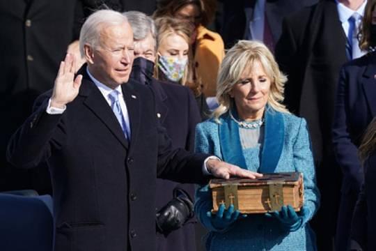 Джо Байден стал 46-м президентом США: он намерен бороться с коронавирусом, неравенством, расизмом и проблемами экологии