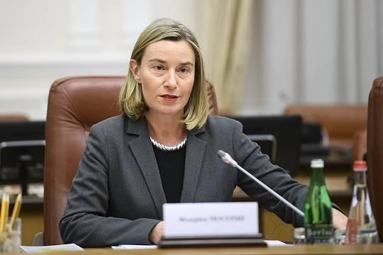 Федерика Могерини выступила с призывом об отказе от эскалации ситуации в Черном море
