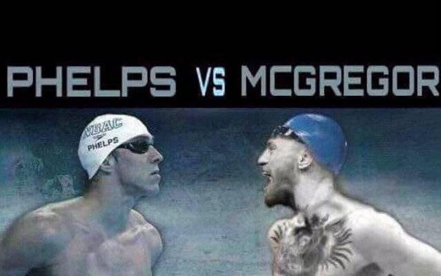 Фелпс кинул вызов Макгрегору назаплыв 100-летия