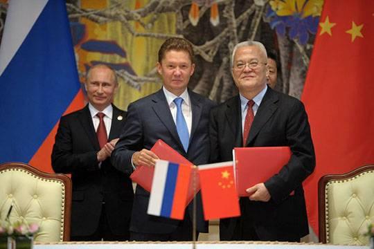 «Газпром» строит третий газопровод в Китай