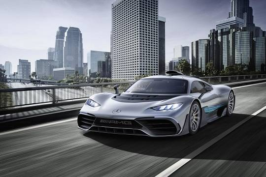 Глава Mercedes-AMG представил миру гиперкар за 136 миллионов рублей