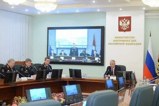 Глава МВД РФ представил нового руководителя ведомства по Приморскому краю