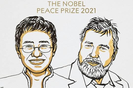 Главред Новой газеты Дмитрий Муратов удостоился Нобелевской премии мира