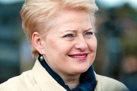 Грибаускайте: Украину ждет «долгий путь» в Евросоюз