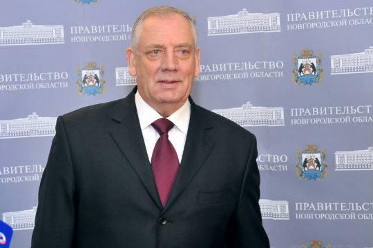 Губернатор Новгородской области Митин уходит в отставку