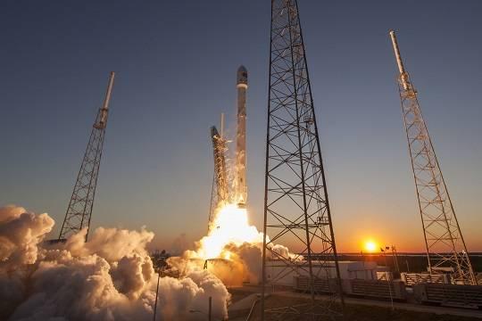 Названа дата старта использованной ракеты-носителя Falcon 9