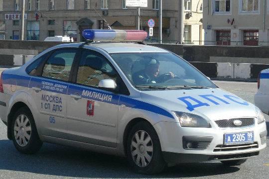 ВПодмосковье напосту ГИБДД произошла стрельба, один человек умер