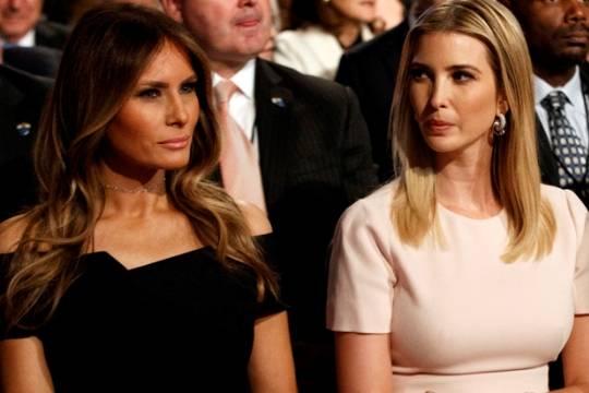 Супруга идочь Трампа вошли врейтинг самых красивых политиков США