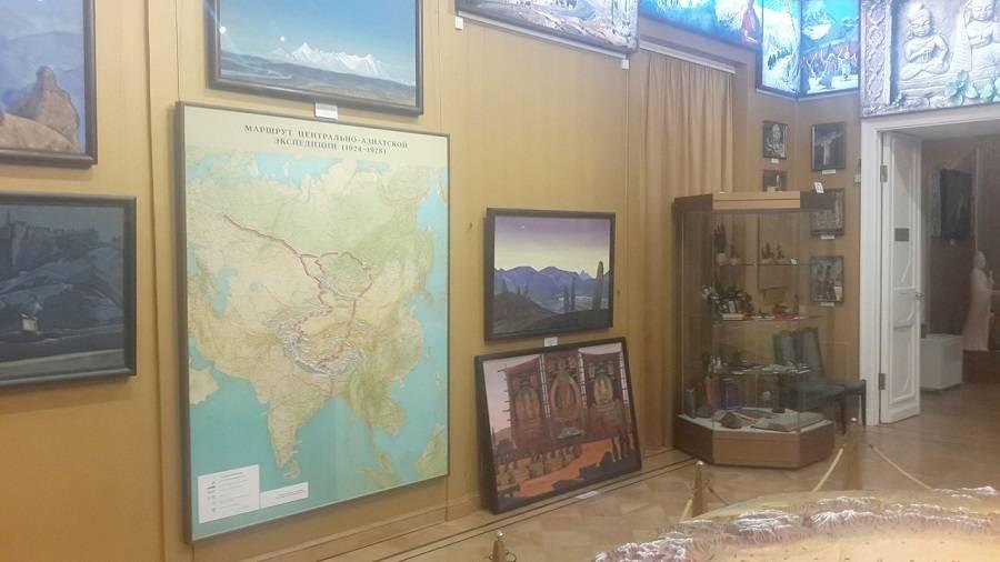 Изъятые картины Рерихов «переехали» вМузей Востока