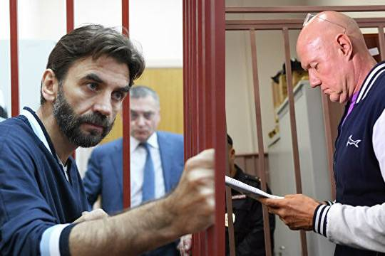 Михаил Абызов и Виталий Нахлупин