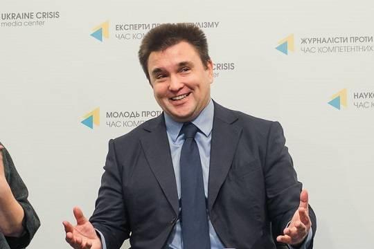 Климкин заявил о намерении подать в отставку после инаугурации Зеленского