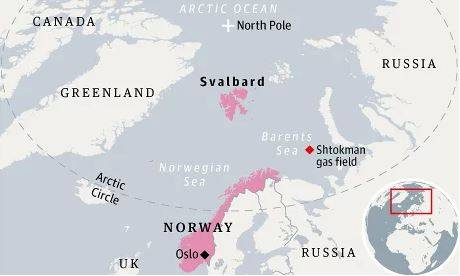 Фото: http://www.theguardian.com/world/2012/jun/05/arctic-oil-rush-dangers-svalbard