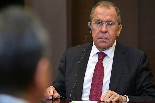 Лавров обвинил Евросоюз в уничтожении отношений с Россией