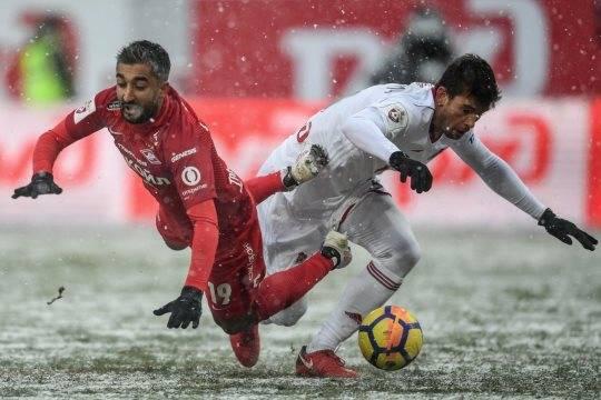 «Локомотив» и«Спартак» несмогли выявить победителя в основном матче тура