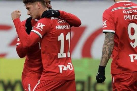 «Локомотив» переиграл «Динамо» в центральном матче 21 тура РПЛ