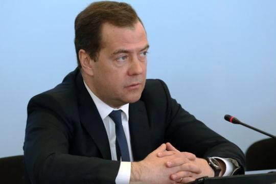 Медведев призвал удвоить товарооборот сКитаем