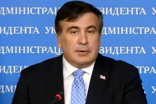 Михаил Саакашвили забронировал авиабилет в Киев на 1 апреля