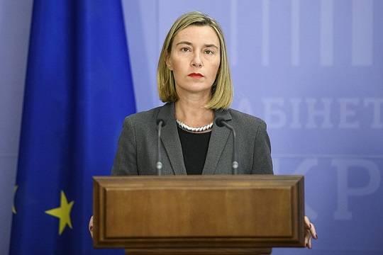 Глава европейской дипломатии ЕС Федерика Могерини