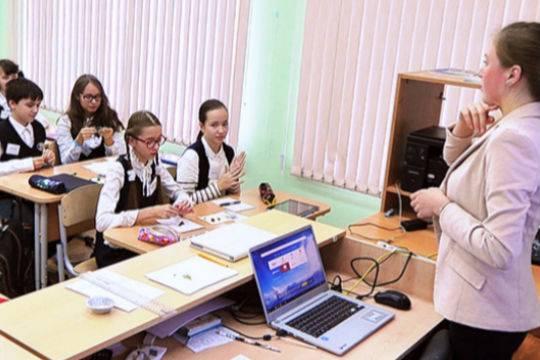 Москва входит в число мировых лидеров по уровню информатизации школ