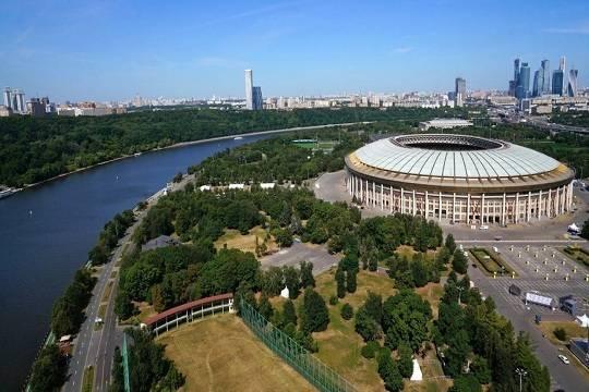 На праздник спорта в «Лужниках» пришли десятки тысяч горожан