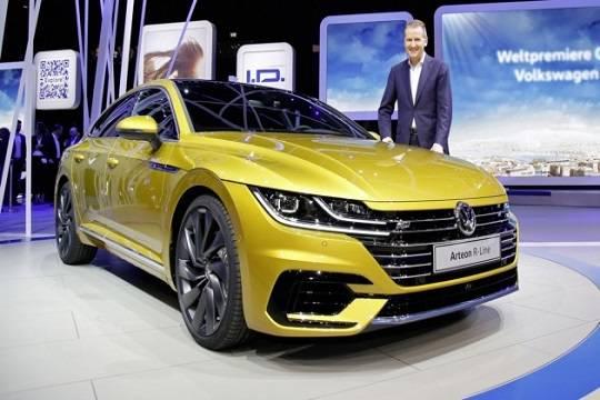 VW Arteon появится в Российской Федерации в следующем 2018